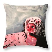 Pooch 1 Throw Pillow