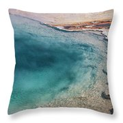 Pool's Edge One Throw Pillow