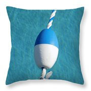 Pool In Blue Throw Pillow