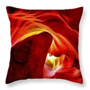 Pool Of Fire Throw Pillow