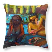 Pool Party Throw Pillow