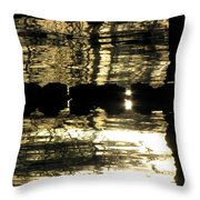 Pool Reflections Four Throw Pillow