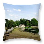 Pool Road - Melbourne Throw Pillow