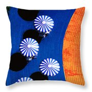 Pool Side Throw Pillow