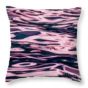 Pool Water Abstract Fine Art By Ronna A. Shoham Throw Pillow