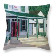 Pooles Store Throw Pillow