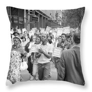 Poor Peoples March, 1968 Throw Pillow