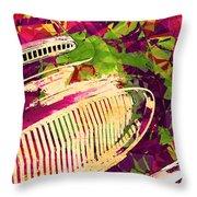 Pop Art Austin  Throw Pillow