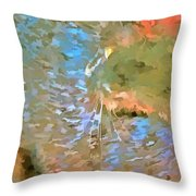 Pop Art Cat Throw Pillow