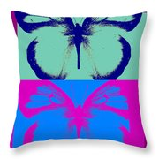 Pop Art Morphosis Throw Pillow