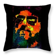 Pop Art Selfie  Throw Pillow