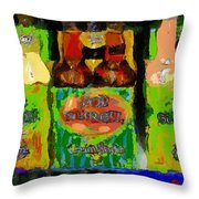 Pop Goes The Surrealism Throw Pillow