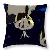 Pop Lily's Throw Pillow