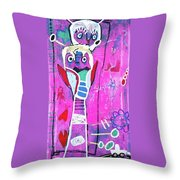 Pop Up Friend Throw Pillow