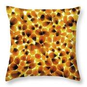 Popcorn Seeds Throw Pillow