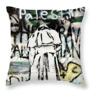 Pope Free Palestine Throw Pillow