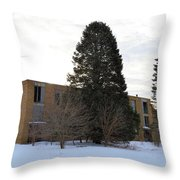 Popejoy School Throw Pillow