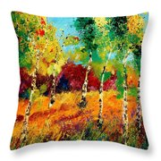 Poplars '459070 Throw Pillow