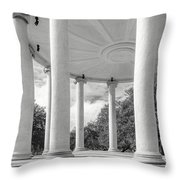 Popp's Bandstand_new Orleans City Park Throw Pillow