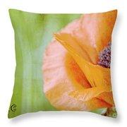 Poppy 9 Throw Pillow