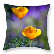 Poppy Ballet Throw Pillow