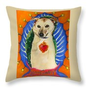 Poppy De Guadelupe Throw Pillow