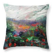 Poppy Dream Throw Pillow