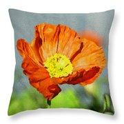 Poppy - Id 16235-142758-2720 Throw Pillow