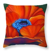 Poppy Pleasure Throw Pillow