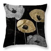 Poppyville Throw Pillow