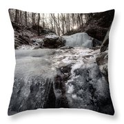 Popsicle Toes Throw Pillow