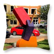 Popsicles In The Park Throw Pillow