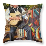 Por Tu Amor Throw Pillow by Donelli  DiMaria