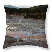 Porcelain Basin #2 Throw Pillow