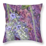 Porcelain Garden Throw Pillow