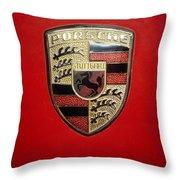 Porche Throw Pillow