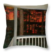 Porchlight Throw Pillow