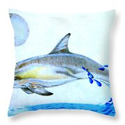 Porpoise Throw Pillow