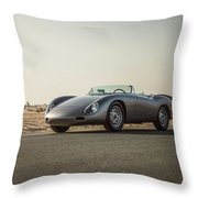 Porsche 356 Zagato Throw Pillow