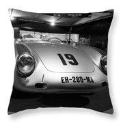 Porsche 550a Rs Throw Pillow