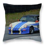 Porsche 651 Throw Pillow