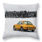 Porsche 911 Throw Pillow