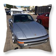 Porsche 911 Slantnose Throw Pillow
