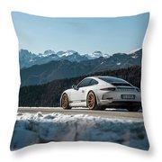Porsche 911r Throw Pillow