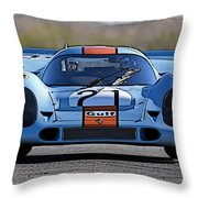 Porsche 917 Shorttail Throw Pillow