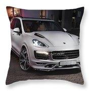 Porsche Cayenne Throw Pillow