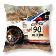 Porsche Gt3 Martini Racing - 01 Throw Pillow