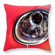 Porsche Headlight Throw Pillow