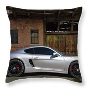 Porsche Need For Speed Throw Pillow