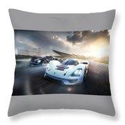 Porsche Vision Gt Concept Throw Pillow